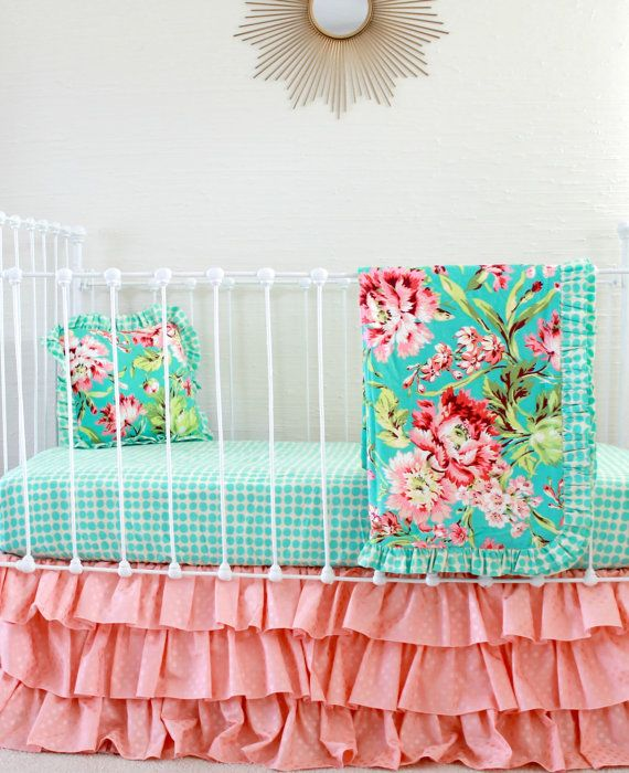 17 Best ideas about Coral And Turquoise Bedding on Pinterest ...