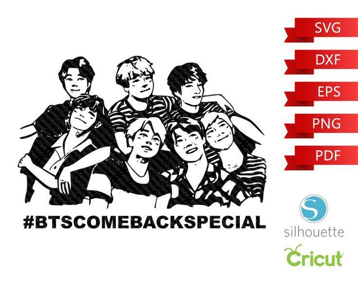 Download BTS SVG Bangtan Boys svg Beyond The Scene png | Etsy in ...