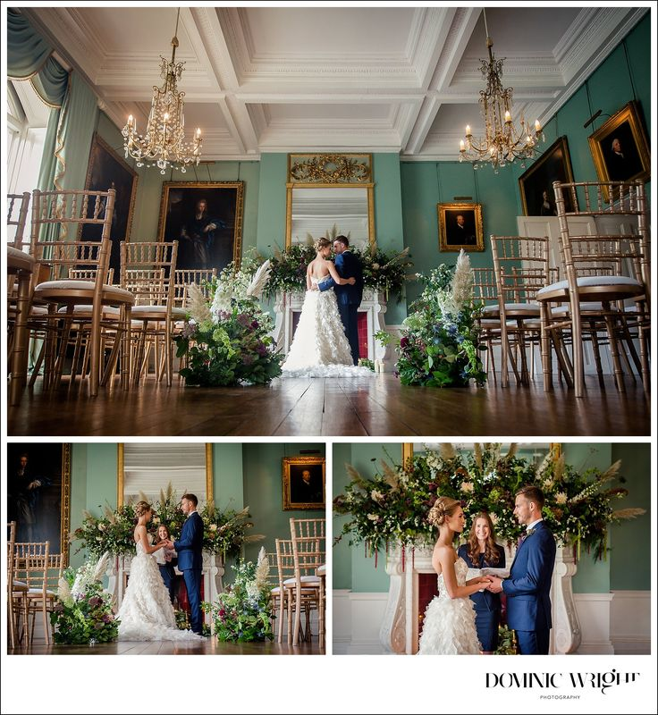 budget wedding venues north yorkshire%0A Yorkshire stately home  u     Birdsall House wild elegance bridal shoot