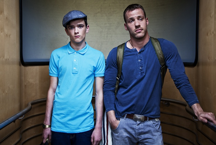 Image of George Sampson and Falk Hentschel in character ...