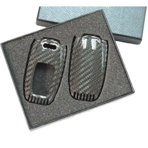 Deluxe Real Carbon Fiber Remote Keyless Key Cover Case Skin Shell for Audi Free Shipping //Price: $60.39 & FREE Shipping //     #hashtag1