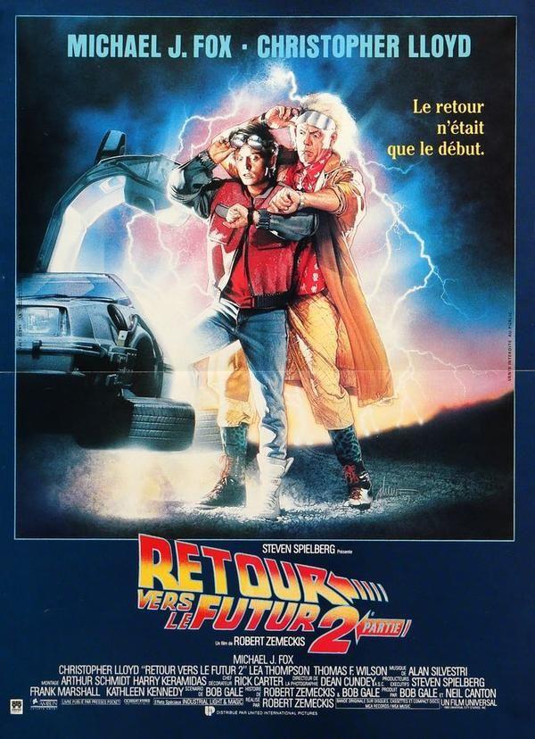 Back To The Future Part 2 1989 Back To The Future The Future Movie Future Poster