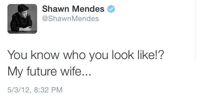 OML SHAWN. THE FEEELLLSSSS!! I went to give shawns new wife a hug and fell in the mirror..... Oops yea that was meeee