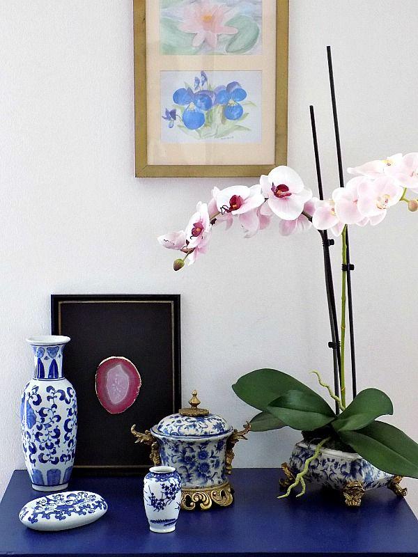 diy-faux-orchid-planter