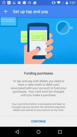 Google Wallet Screenshots