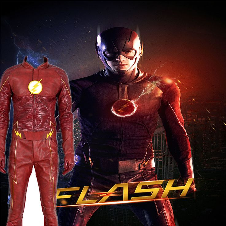 ==> [Free Shipping] Buy Best Express! CGCOS Cosplay Costume The Flash Season II 2 Game Cos Barry Allen Jacket Superhero Uniform Custom Made without Shoes Online with LOWEST Price | 32732295458
