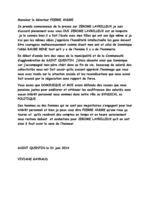 GAYRAUD DOMINIQUE EXPRESSION VIVIANE au sujet de JEROME LAVRILLEUX  #DGAYRAUD