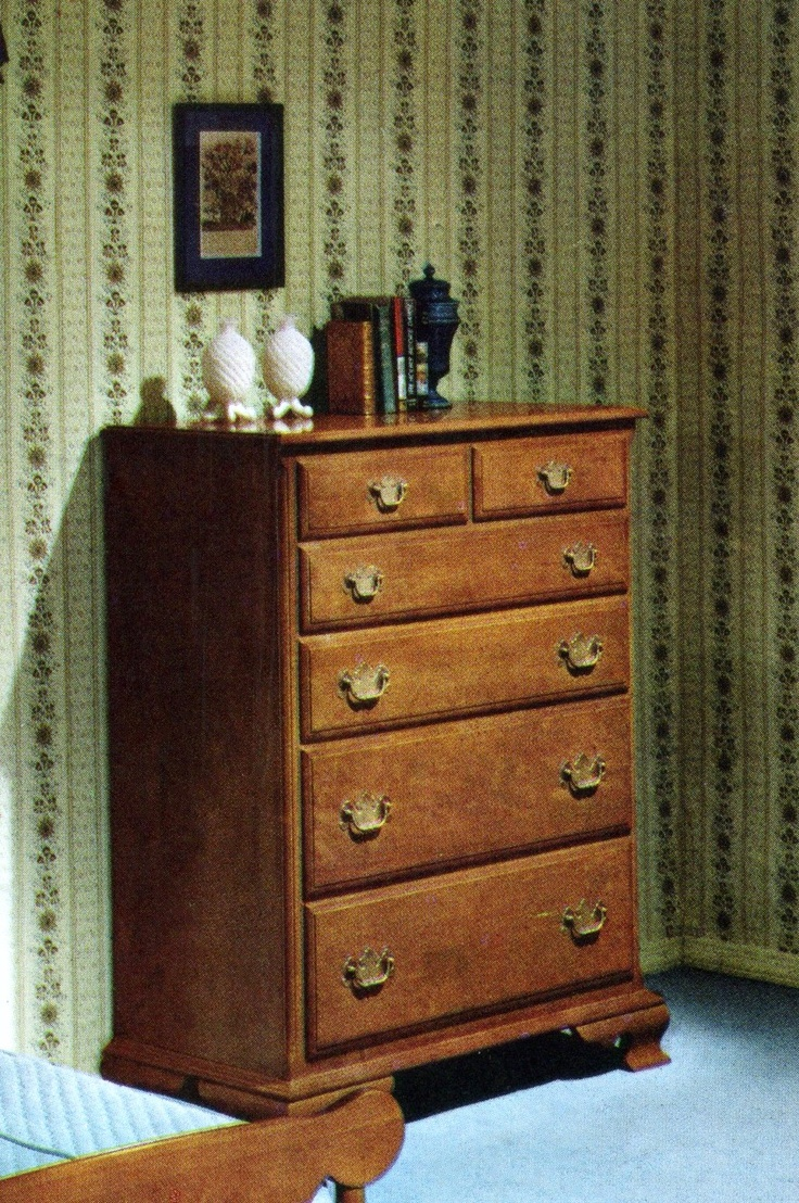 Maple Chest Of Drawers Ethan Allen Catalog Photo No