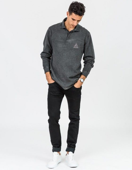 Overcast Marlin Polo - Black