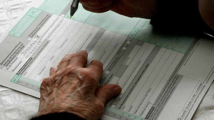 Immer mehr Rentner müssen eine Steuererklärung abgeben