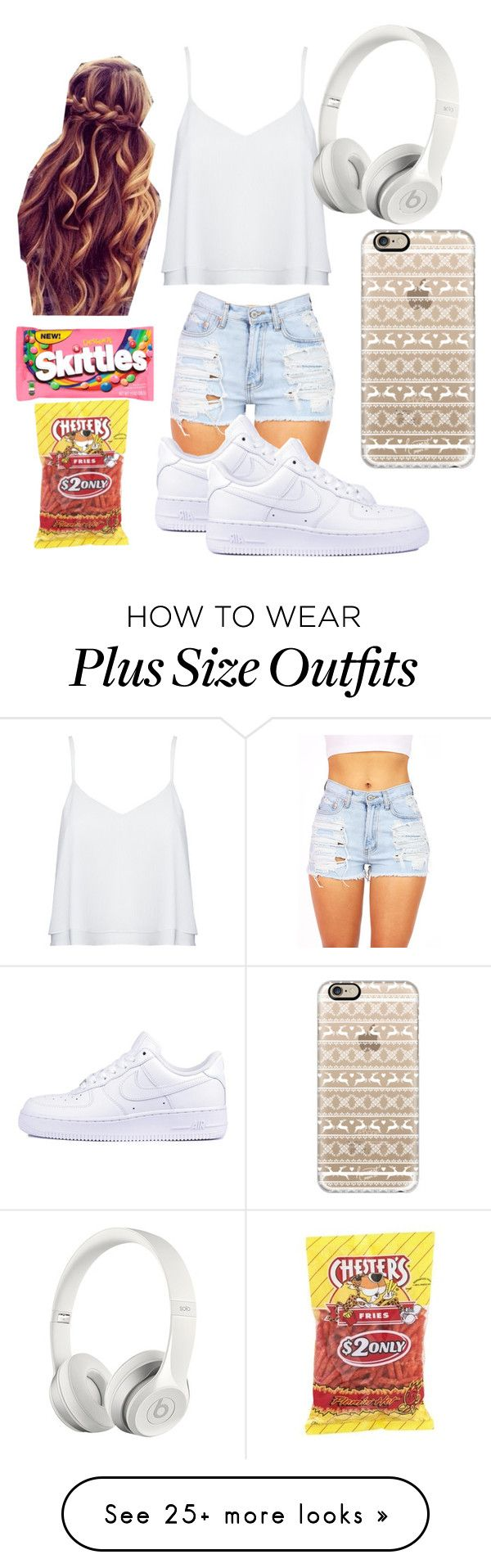 """Made By: Daniela "" by jasloves5sos on Polyvore featuring Alice + Olivia, NIKE, Beats by Dr. Dre and Casetify"