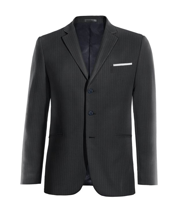 Blue striped wool Blazer http://www.tailor4less.com/en/men/blazers/4048-blue-striped-wool-blazer