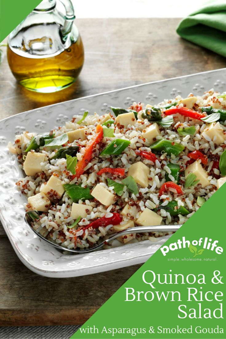 with Path of Life Organic Quinoa & Brown Rice in this delicious salad ...