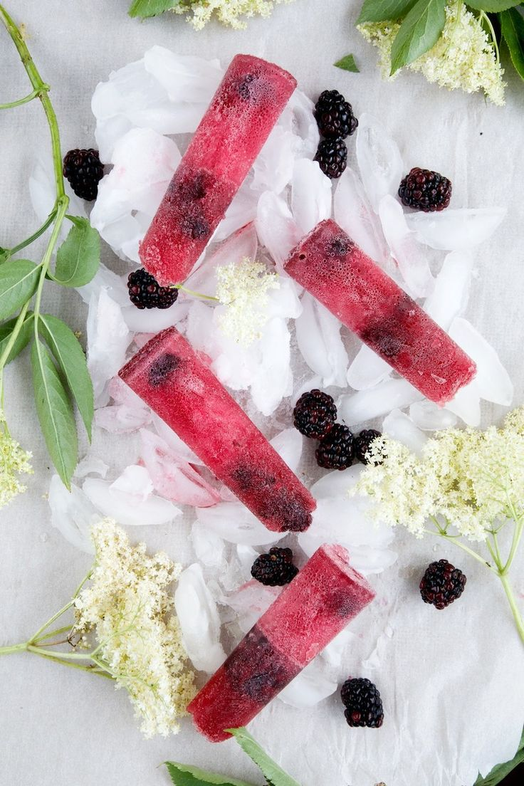 Pimms Ice Pops - grown up freezer pops!