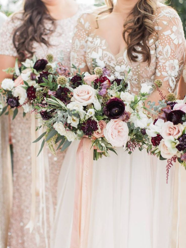 Pale Pink Weddings By Adriana Sparks Bridal On Blush Champagne