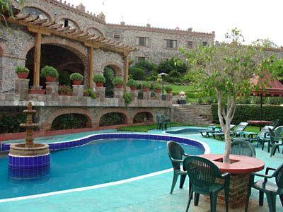 castillo santa cecilia guanajuato, mexico