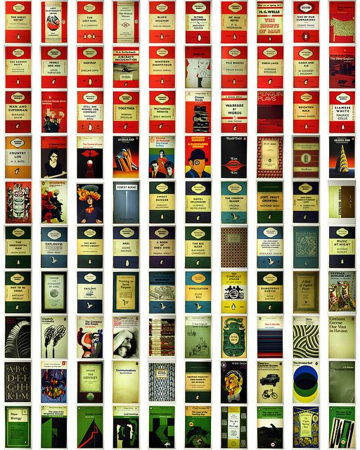 Classic Penguin Book Covers ~ Inspired by kirsten i got these postcards and plan on