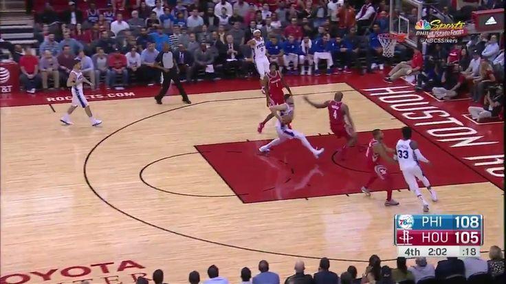 Ben Simmons cala o Toyota Center! O Sixers não vencia o Rockets desde 2013 e em Houston desde 2011. #BenSimmons #Sixers #NBA