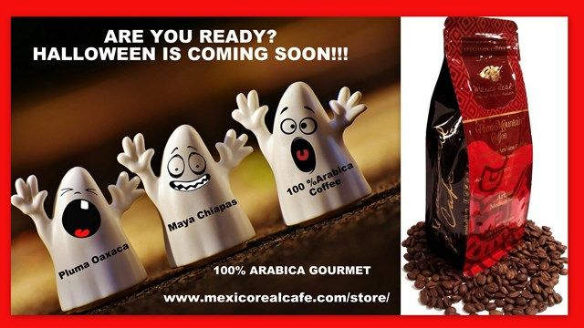 GET READY FOR HALLOWEEN!! FALTAN SOLO UNOS DIAS PARA EL DIA DE MUERTOS/ HALLOWEEN!! YA QUEREMOS PAN DE MUERTO PARA NUESTRO CAFE!! VISIT OUR ONLINE STORE TO GET COUPONS, AND KNOW MORE ABOUT THE MEXICAN CULTURE & COFFEE! #coffee #cafe #caffe #latte #tea #halloween #messico #mexique #mexico #mexican #food #gourmet #tradition #art #drinks #celebration #friends #america #canada #usa #uk #london #party #paris #cannes #rome #roma #cheers #amazing #lovely #europe #texas #nightscape