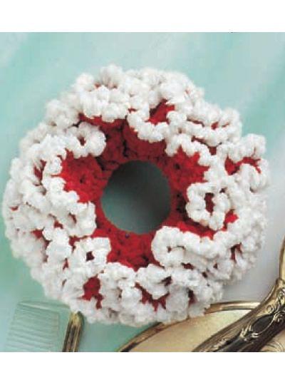 Crochet - Accessories - Miscellaneous Crochet Accessories - Chenille Scrunchie II - #FC00615