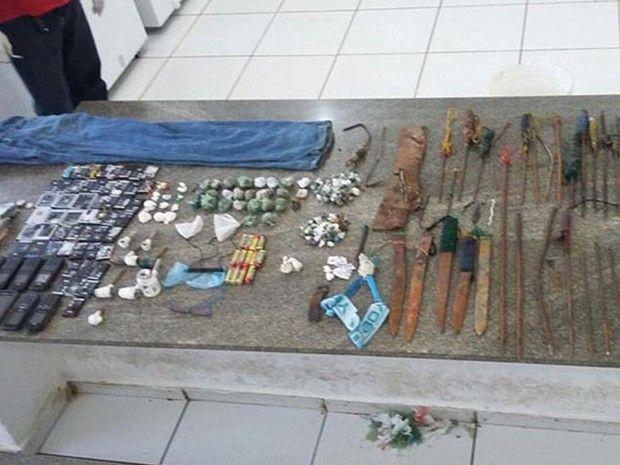 Em vistoria, agentes encontram celulares e armas em presídio do Piauí - http://anoticiadodia.com/em-vistoria-agentes-encontram-celulares-e-armas-em-presidio-do-piaui/
