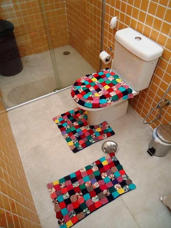 jogo para banheiro de fuxico