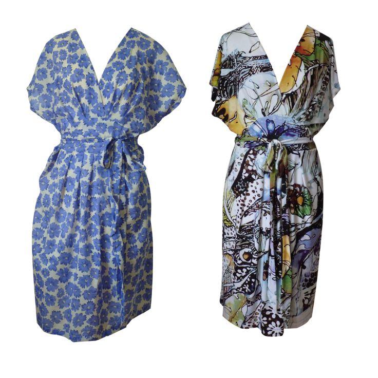 Curvy Akinori wrap dress PDF sewing pattern woven and jersey