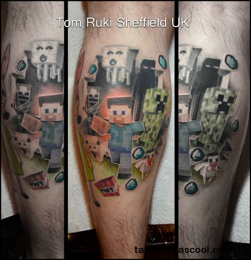 17 Best Images About Movie Tv Game Tattoos On Pinterest: 17 Best Ideas About Minecraft Tattoo On Pinterest