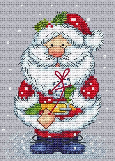 Cute Santa crossstitch