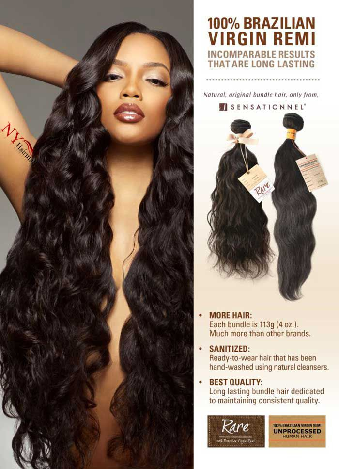 Brazilian Remi Natural Body wave bundle hair (UNPROCESSED HAIR ...