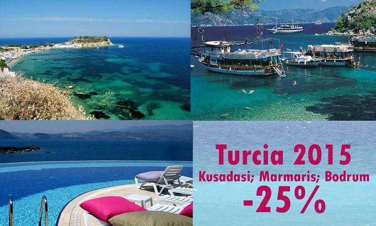 Early Booking Turcia!  Ofertele includ zbor cu charter catre destinatiile insorite, cu iesire la Marea Egee.