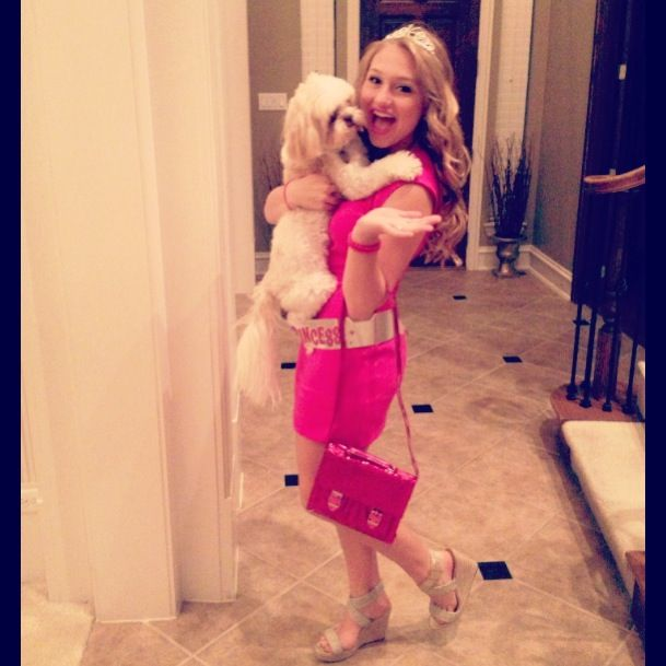 Elle woods and bruiser woods- quick and easy Halloween costume ...
