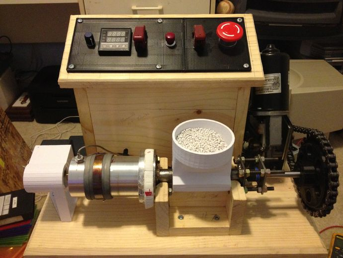 My version of the LYMAN FILAMENT EXTRUDER by bottleworks - Thingiverse