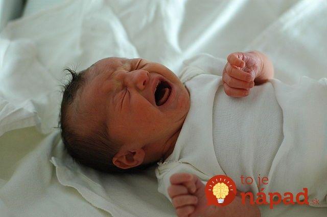 Ako upokojiť plačúceho novorodenca za pár sekúnd? Jednoduchá metóda má 98%…