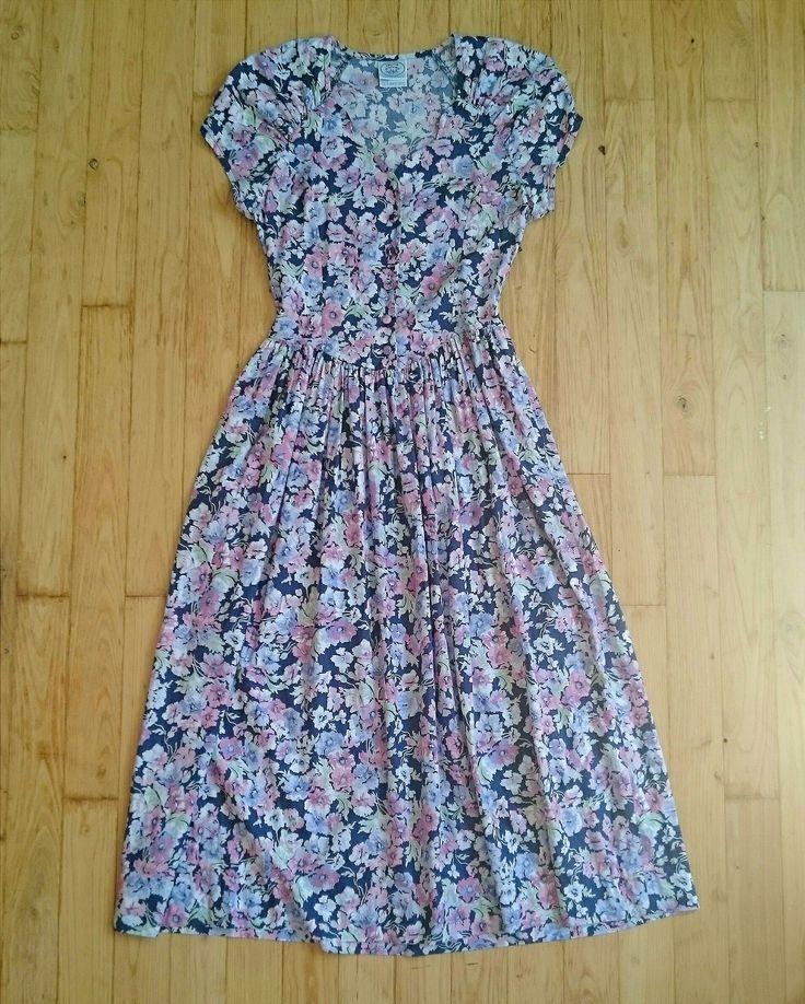 VINTAGE LAURA ASHLEY FLORAL DRESS | from www.deerandfawn.com
