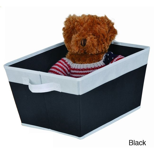 ATHome Foldable Storage Bin | Overstock.com Shopping   The Best Deals On  Closet Storage