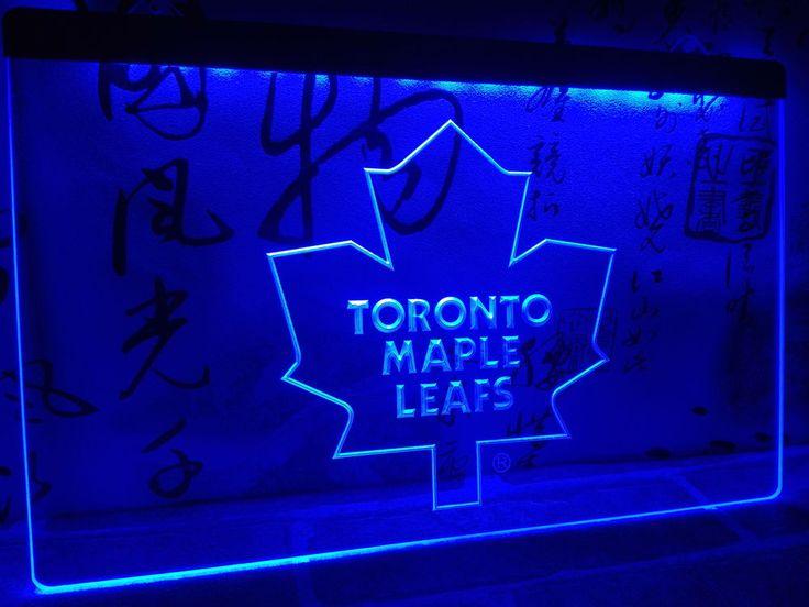 LD103- Toronto Maple Leafs LED Neon Light Sign home decor crafts