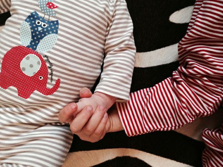 Best friends forever... Wearing Gingerlilly Sleepwear on Style Space