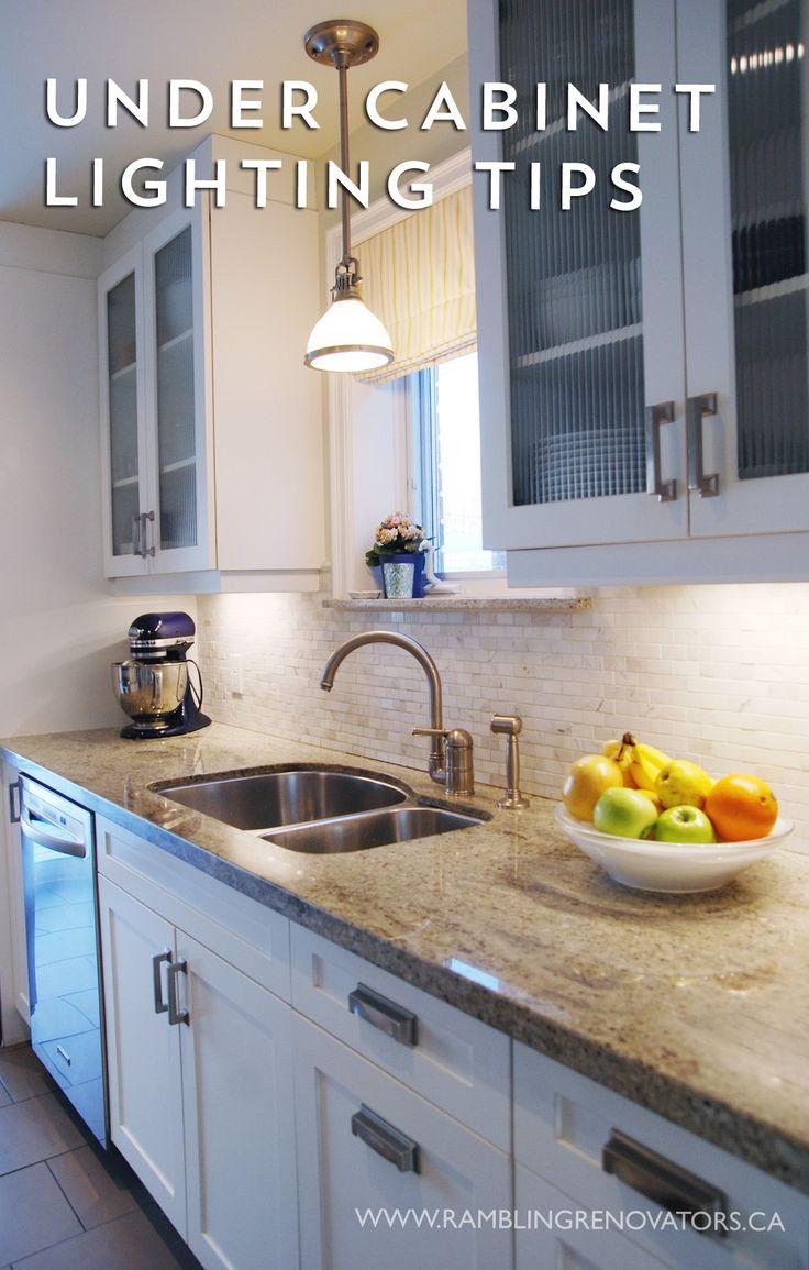Kitchen cabinet lighting options - Rambling Renovators Under Cabinet Lighting Tips