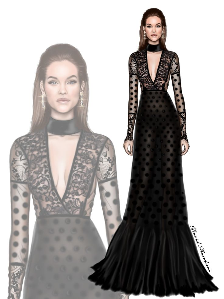 The Belissima Barbara Palvin in Elie Saab to the #amfAR  Gala.  #digitaldrawing by David Mandeiro illustrations #ElieSaab #BarbaraPalvin #fashionblogger #digitalart #Wacom #AdobePhotoshopElementsEditor #Hautecouture