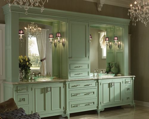 Best Medallion Kitchen And Bath Cabinetry Images On Pinterest - Bathroom vanity hutch cabinets