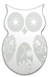 Mirror - Owl 40cm high