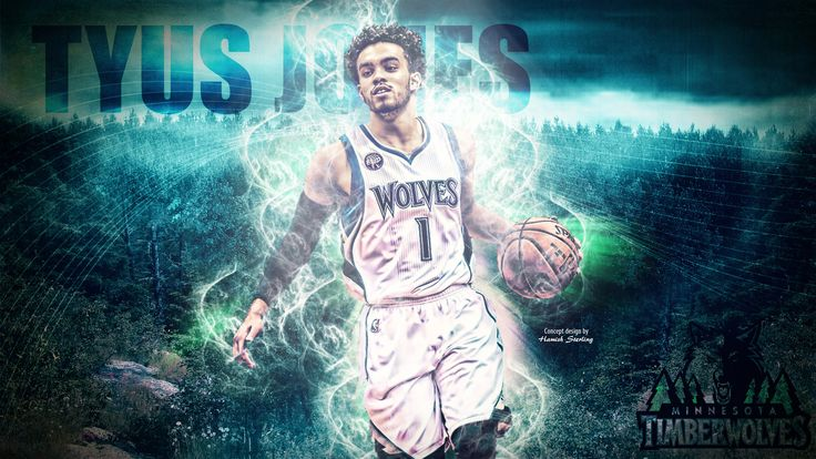 Tyus Jones, MVP of 2016 Las Vegas NBA Summer League. Download full size at - http://www.basketwallpapers.com/USA/Tyus-Jones/tyus-jones-timberwolves-2016-wallpaper.php :)