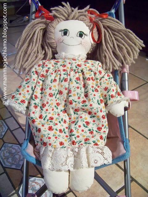 Abbiamo adottato 2 Pigotte: Viola e Caterina, bambole Waldorf
