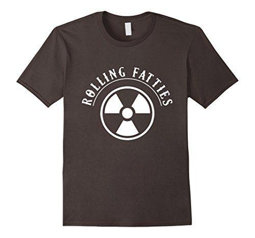 Men's X-Ray T-Shirt: Rolling Fatties Shirt For X-Ray Tech... x ray tech humor, rad tech humor, rad tech, x ray tech, x ray humor, x ray,  rad tech week, rad tech student, mammographer, mammographer humor,  mammography, mammography humor, radiographer, radiographer humor, radiography, radiographer humor, x ray memes, rad tech memes, radiographer memes, radiology, radiology technologist, #roninshirts