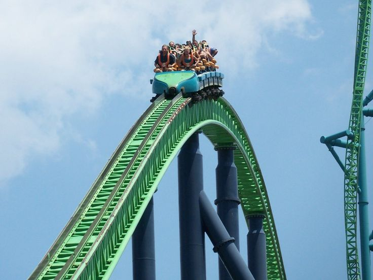 Get your adrenaline pumping by riding Kingda Ka, the tallest roller coaster in the world, at Six Flags in Jackson.