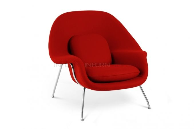 Womb Armchair inspired by Saarinen - INFURN