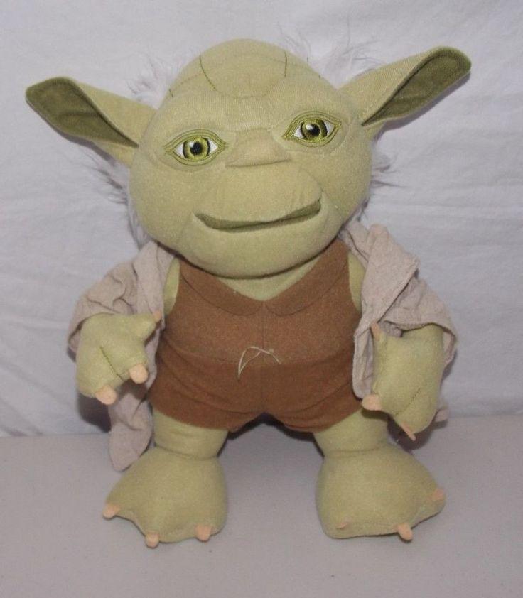 "Star Wars Talking Yoda Plush Doll 12"" #UndergroundToys"