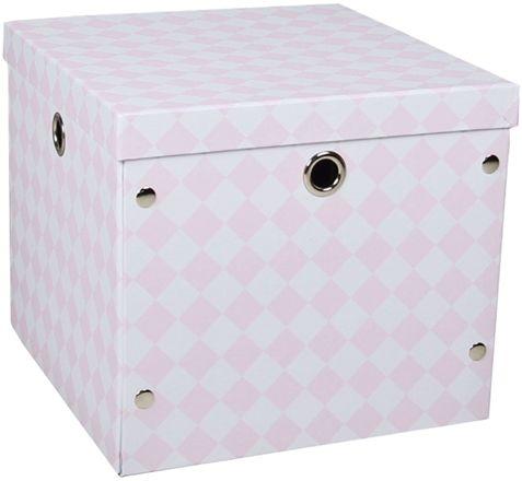 Alice & Fox Förvaringsbox Papp Rosa