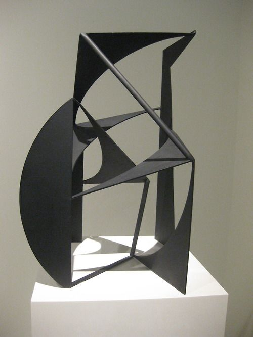 Concrétion, 1953. Robert Jacobsen (1912-1993) was a Danish sculptor and painter. The Danish Robert award was named after him.  From 1986 to 1991 he worked with Jean Clareboudt to create a sculpture park at Tørskind Gravel Pit near Egtved and Vejle. He worked closely together with his friend and son in law, Bernard Leauté. Jacobsen also had a connection to Asger Jorn and the CoBrA artists, but he never was a member of their group.